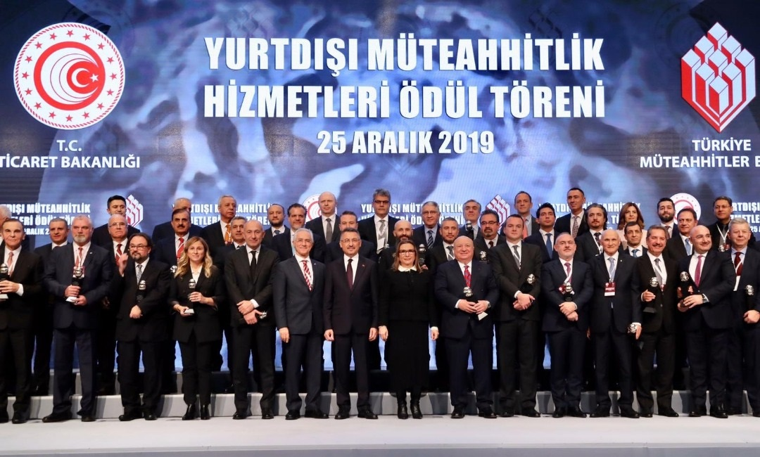 The Ceremony for year 2019 International Contracting Services Award organized by Turkish Contractors Association was held in Ankara on 25th December 2019.
