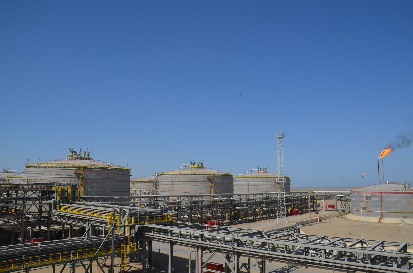 Crude Oil Tank Farm Terminal Project