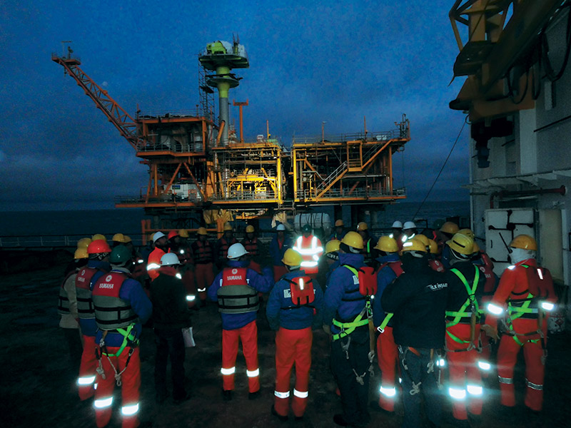 Engineering, Procurement, Fabrication, Integration, Load Out, Piling, Offshore Installation and Commissioning of Wellhead platform. Platform consists of Cargo Deck, Main Deck, Intermediate Deck and Drain Deck.