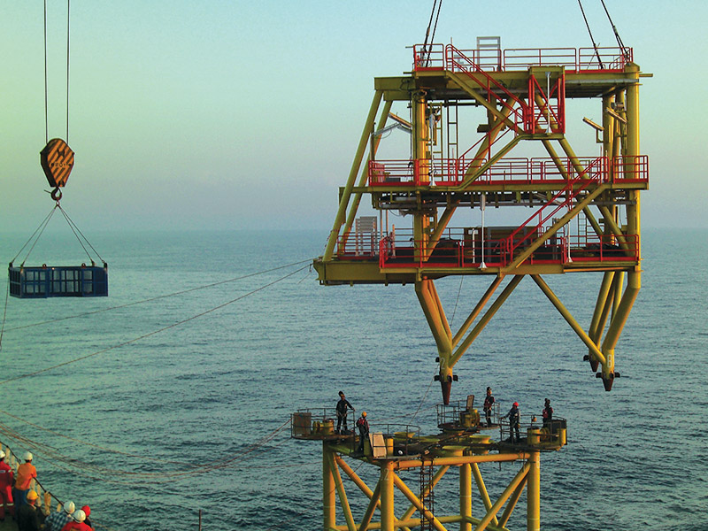 Temporary construction facilities, earthworks, engineering and design, fabrication, E&I, topside integration, jackets integration, pile fabrication, blasting & painting, mechanical completion, testing & commissioning, load out, sea fastening, hook up & commissioning.