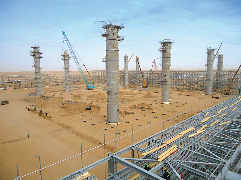 Civil, Architectural and HVAC works, Building Works, Tank & Silo Installation Works, Soil Investigation Works, Underground Piping Installation & Painting Works, Temporary Access Road to Site, NDE and PWHT work, Temporary Camp Facilities, Manpower & Equipment Supply of Scaffolding Works.