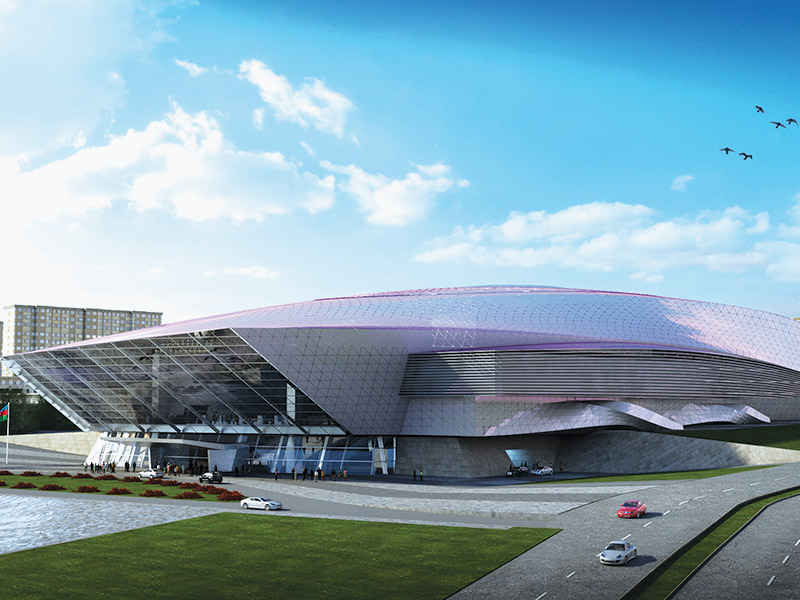 Procurement, Construction and Commissioning of Convention Centre.