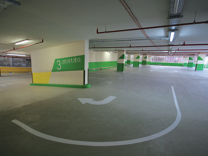Engineering, procurement, construction and commissioning of  6 storey, 7.230 m² closed car park with 181 cars capacity.