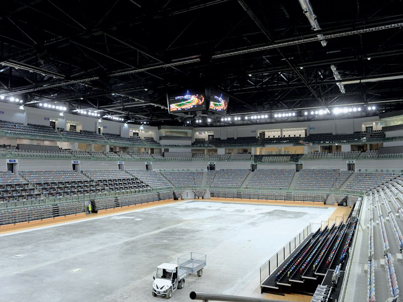 Construction of  6.000 seat capacity Arena for Rhythmic & Artistic Gymnastics.