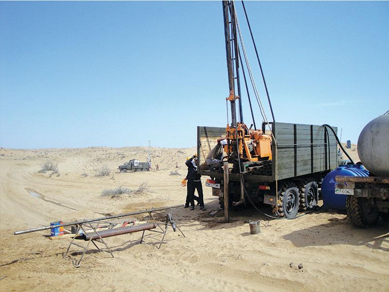 South yoloten gas field development project for Soil investigation