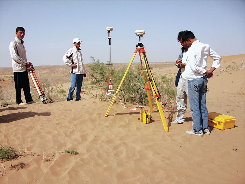 Earthworks, Infrastructure, Soil Investigation and Topographic & U/G Survey Works of South Yoloten Gas Field Development Project.