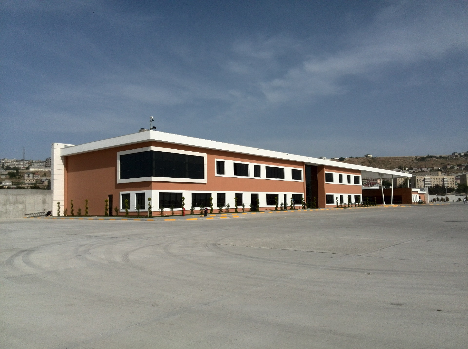 EPC Buildings of bus station and training