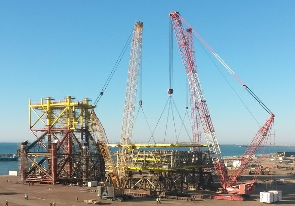 EPCC of 10.000 bpd oil and 35 mmscfd gas production capacity offshore fixed platform which will be located in Caspian Sea 35 m water depth.