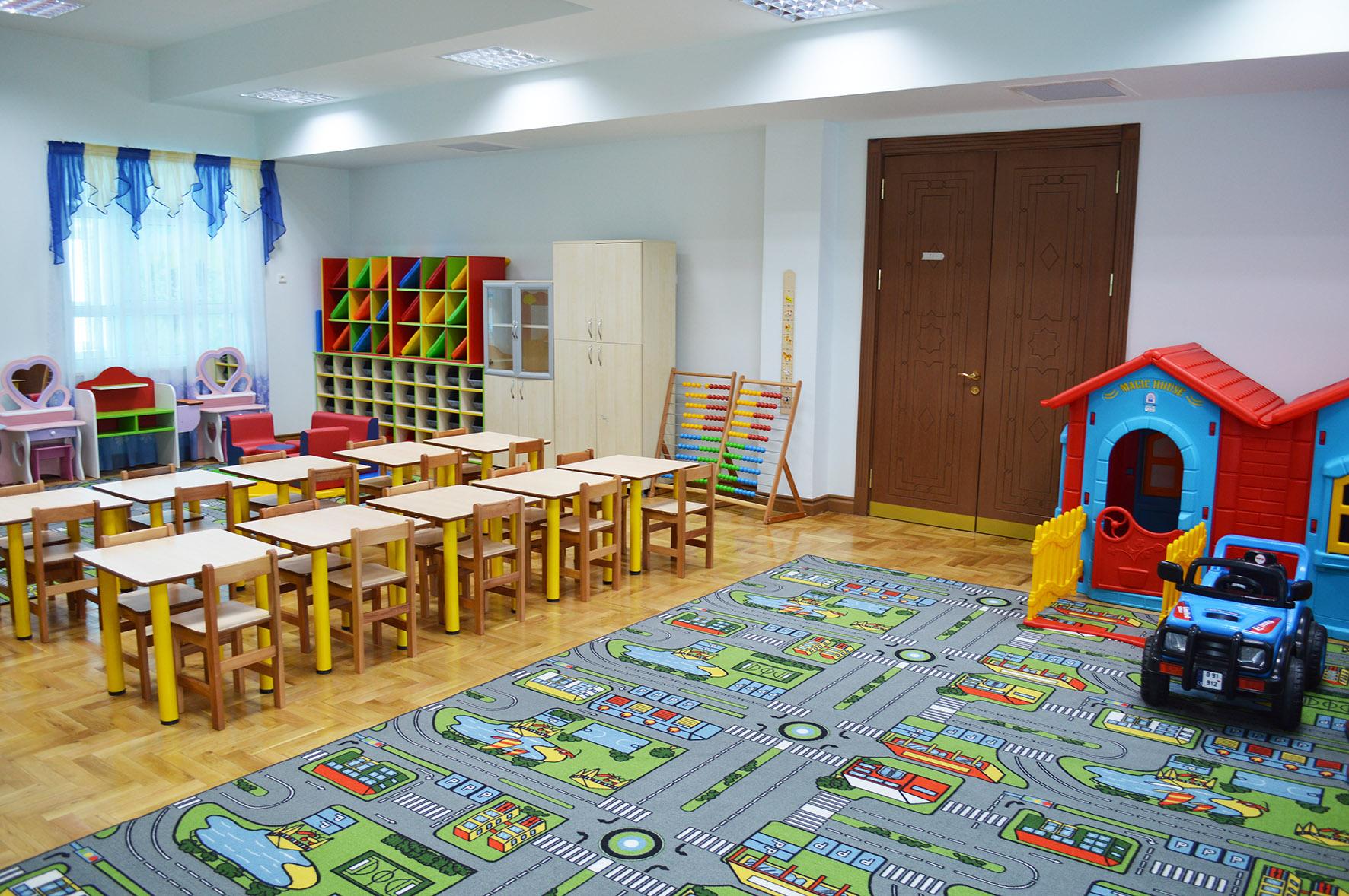 Engineering, procurement and construction of Kindergarten.