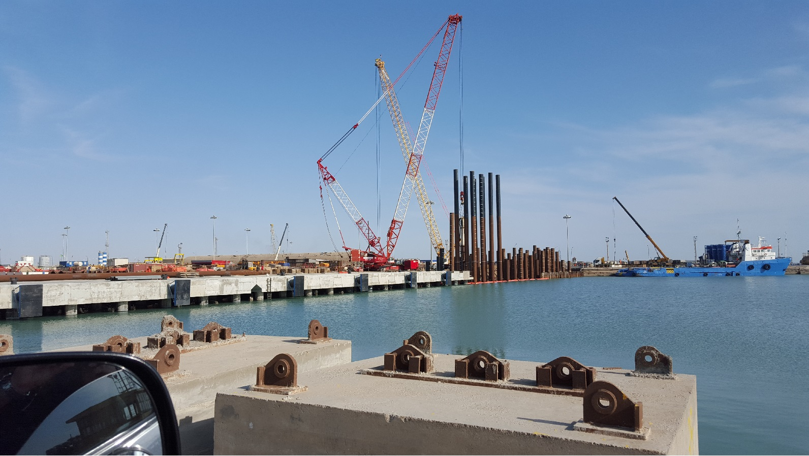 The Detailed Engineering, Procurement, Construction, installation and Commissioning of berth facilities.