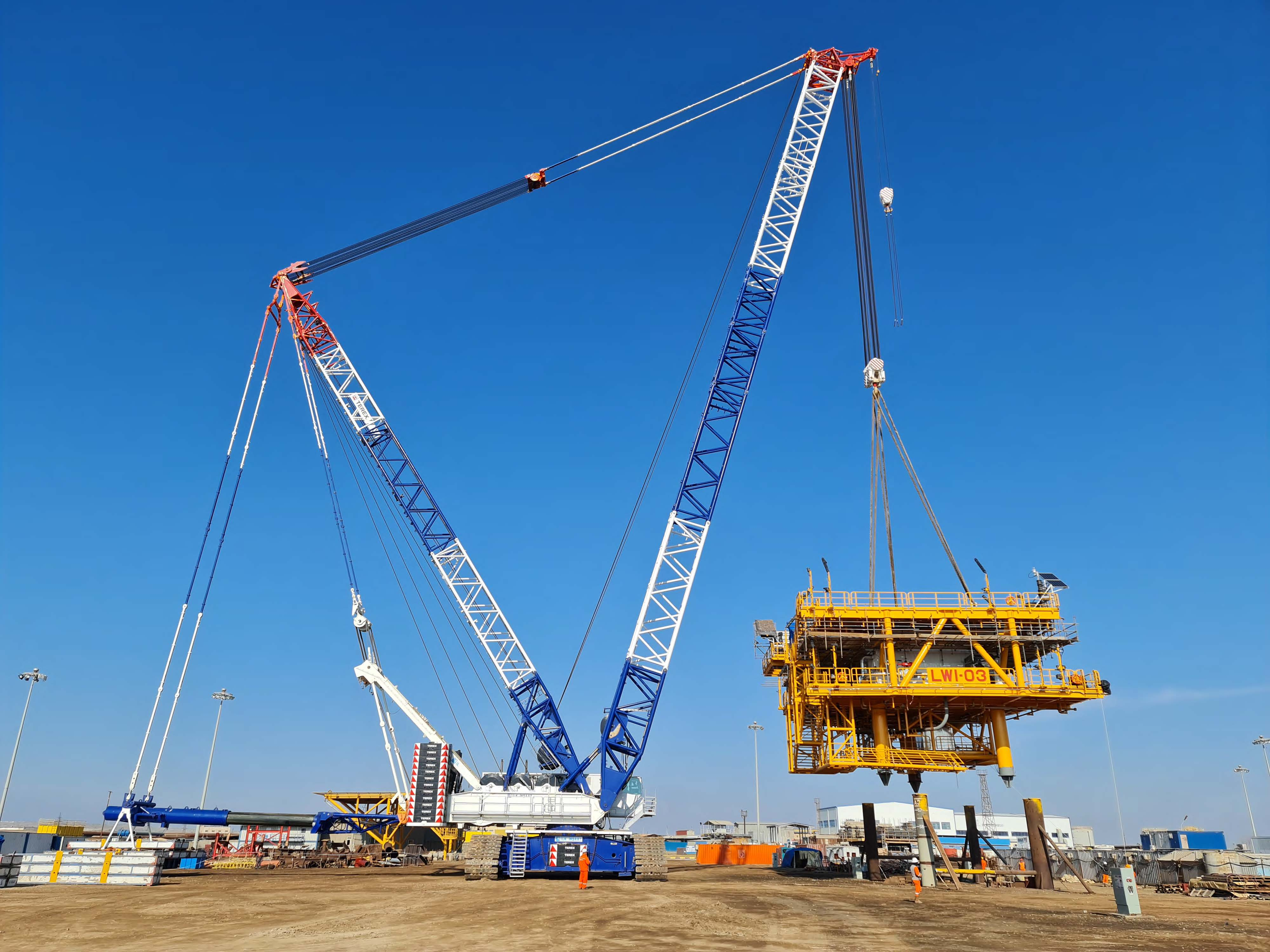 Three New Wellhead Towers & Associated Pipelines for Water Injection