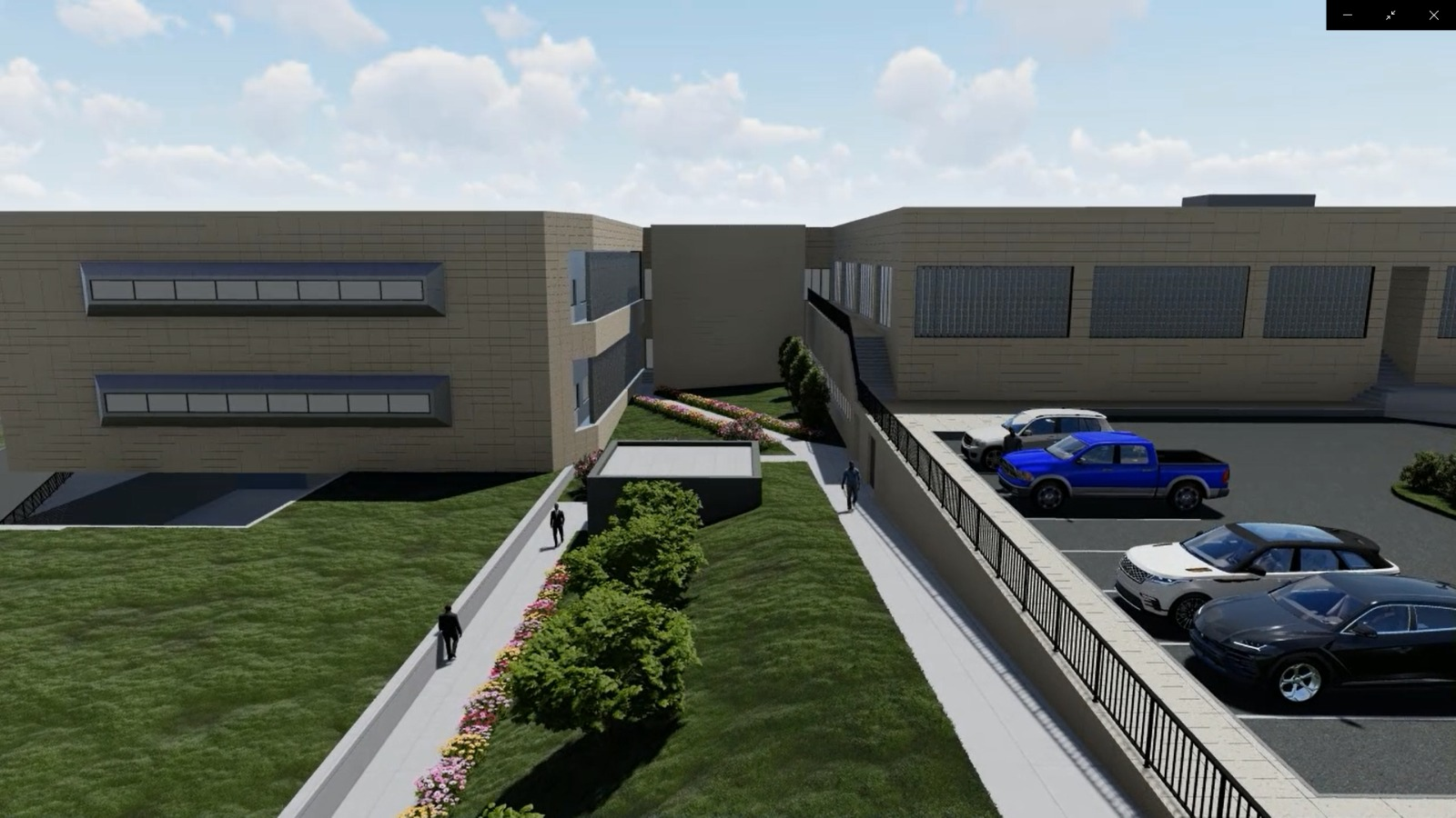 Turnkey architectural, fit-out, MEP and weak current construction works of Hospital Project.